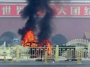aanslag Tiananmen