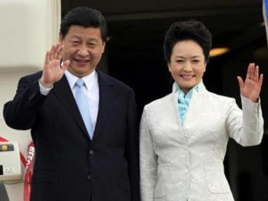 xi and wife