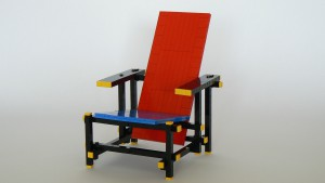 Rietveld chair ©Barry Bosman